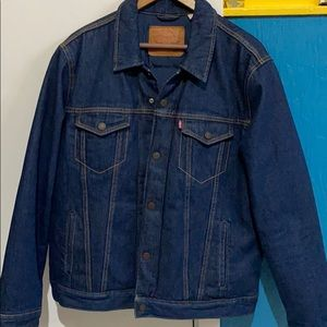 Men's Levi's Down Jean Jacket